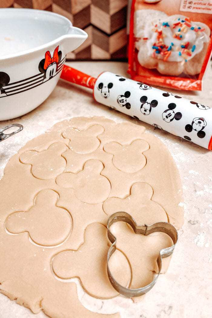 Mickey Mouse Pumpkin Sugar Cookie Recipe