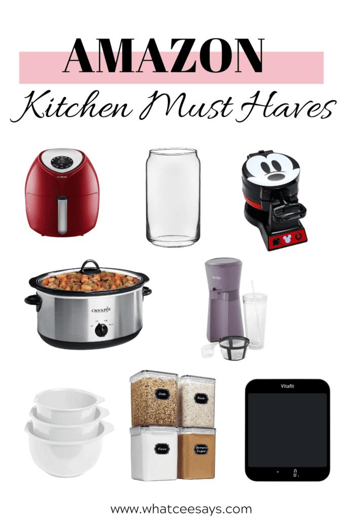 amazon kitchen amazon kitchen must haves